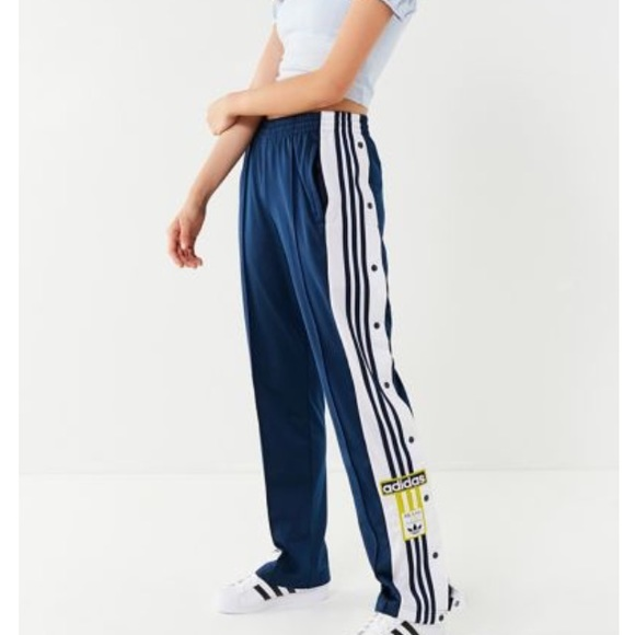 best website find lowest price top-rated official NWT NAVY Adidas Originals Snap Pants NWT